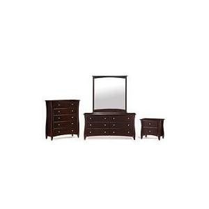 Clove 5 Drawer Chest Chocolate Finish