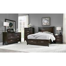Malta Tobacco Queen Bedroom Set