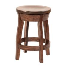 Shelby Amish Custom Barstool / Counter Stool