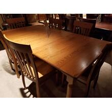 Woodco Solid Oak 7-Piece Dining Room Set