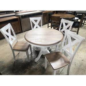 Winners Only - BUTTERFLY LEAF TABLE WITH 4 CHAIRS #DPR