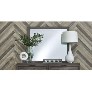 Liberty Furniture Industries - Tanners Creek -  Mirror in Greystone Finish