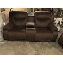 See Details - Southern Motion Power Reclining sofa with console