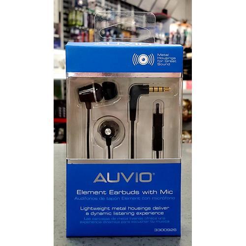 Auvio Elemental Earbuds w/ Mic