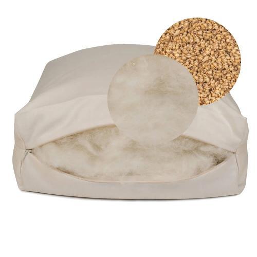 Sachi Organics - Rejuvenation Pillow with Natural Wool & Millet