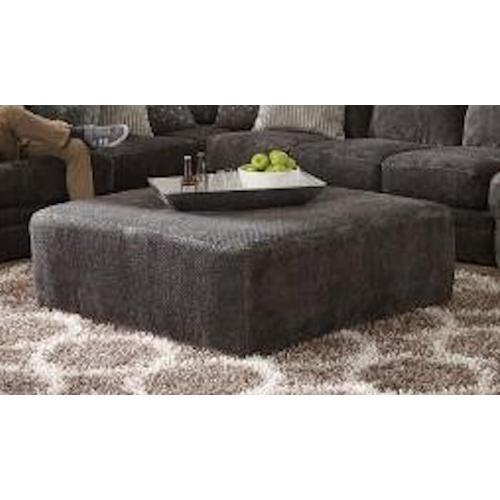 Jackson Furniture - Jackson Furniture Mammoth Ottoman - Fabric:  1806-58 Smoke