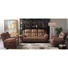 3 Piece Manual 2 Tone Reclining Living Room Set