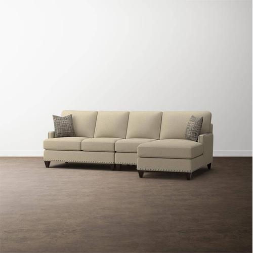Premier Collection - Custom Upholstery Deep Right Chaise Sectional