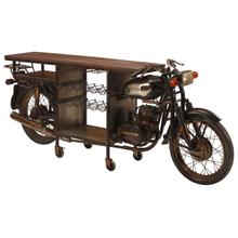 City Two-Wheeler Bar Cart