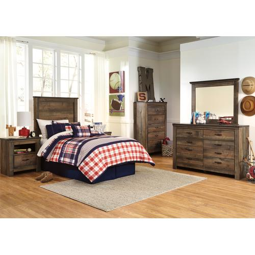 Trinell - Brown 4 Piece Kids Bedroom Set
