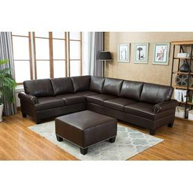 Hampton Sectional & Ottoman