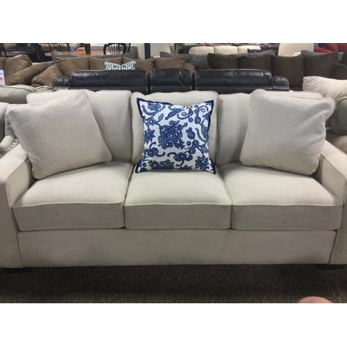 Heavy Fabric Square-Arm Sofa