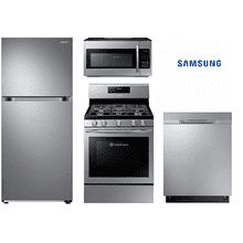 Samsung Kitchen Package with Top mount Refrigerator