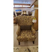 1 - ONLY Moscato Chair w/ Brass Nail Head Trim, INCLUDES PILLOW AS SHOWN