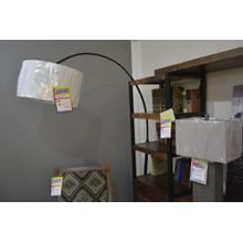 Product Image - Ashley Furniture black metal floor lamp.