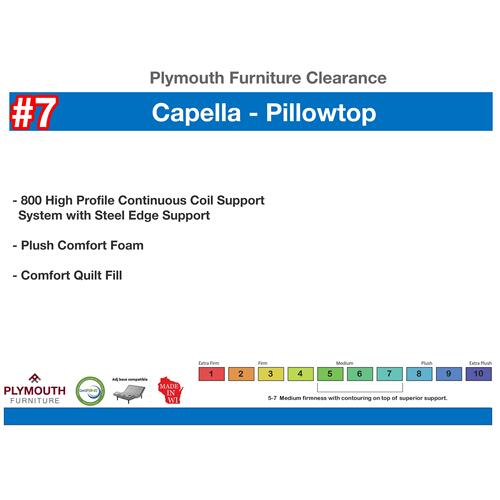 Midamerica Bedding - Capella Pillowtop Mattress