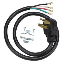 See Details - Universal 4-Prong dryer power cord. - 4-Prong - 6 ft. Length - 30 Amp; 250 volts