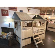 Full Size Tree House Loft Bed
