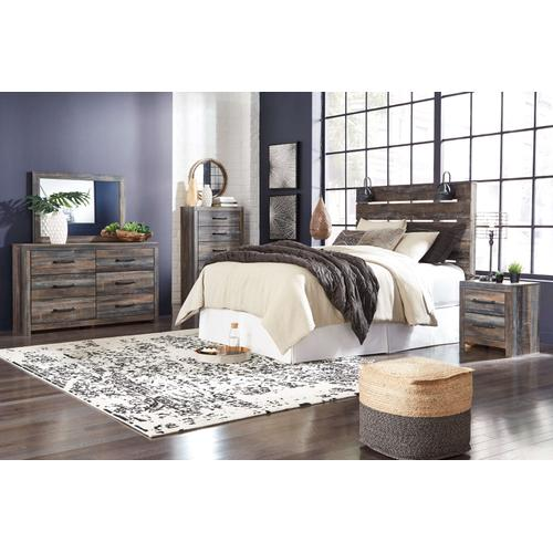 Drystan - Brown Rustic 4 Piece Bedroom Set