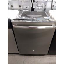 Sleight GE Dishwasher With Stainless Tub (This may be a Stock Photo, actual unit (s) appearance may contain cosmetic blemishes. Please call store if you would like additional pictures). This unit carries our 6 Month warranty, MANUFACTURER WARRANTY and REBATE NOT VALID with this item. ISI  37500 B