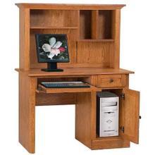 Computer Student Desk Solid Oak/Oak Veneer
