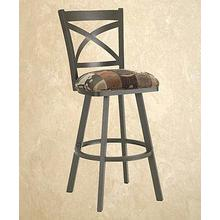Edison - Armless Swivel Barstool