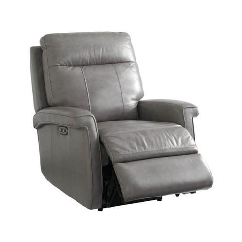 Matthews Wallsaver Recliner w/ Power in Pewter