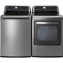 LG Washer and Gas Dryer Graphite