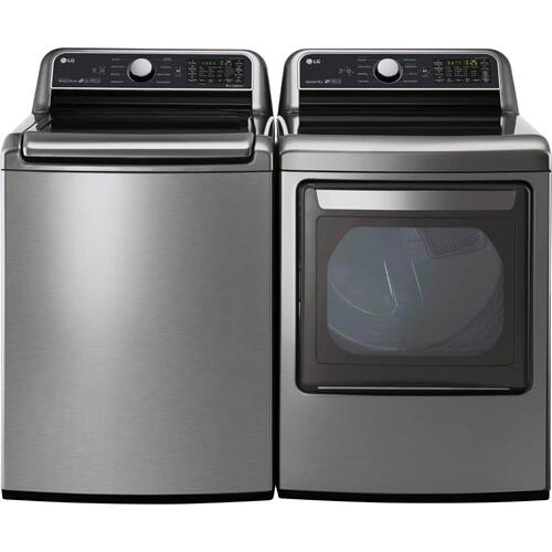 Packages - LG Washer and Gas Dryer Graphite