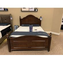 See Details - Queen Wooden Bed Style# ALE-382