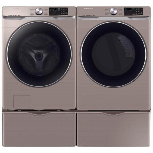 Samsung Front Load Washer & Dryer Pair - Champagne