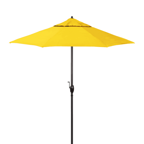 California Umbrella - Casa Series 7.5' Umbrella - Yellow