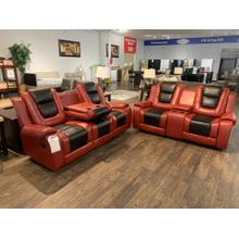 Generation Trade Austin Red Reclining Sofa and Loveseat