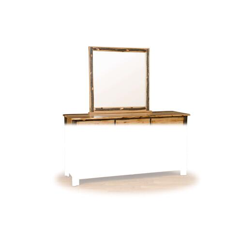 Hickory Dresser Mirror