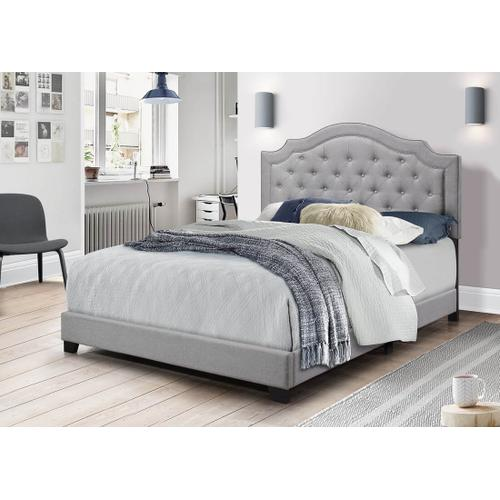 Starbed Linen bed (gray and sand)