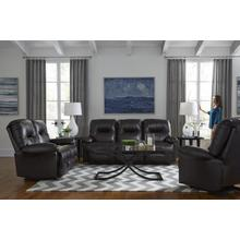 See Details - 2-PC TOP GRAIN LEATHER MANUAL RECLINING SOFA/LOVESEAT SET