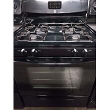 Black Frigidaire GAS Range (This is a Stock Photo, actual unit (s) appearance may contain cosmetic blemishes. Please call store if you would like actual pictures). REBATE NOT VALID with this item.  ISI 37623 W