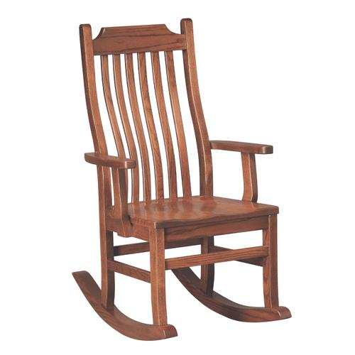 Country Value Woodworks - Mission Rocker