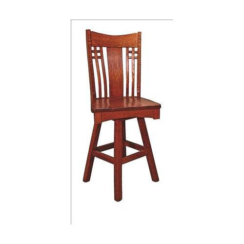 Amish Furniture - Larson Mission Stool