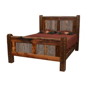 Natural Barn Wood Bed