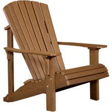 Deluxe Adirondack Chair Premium Antique Mahogany
