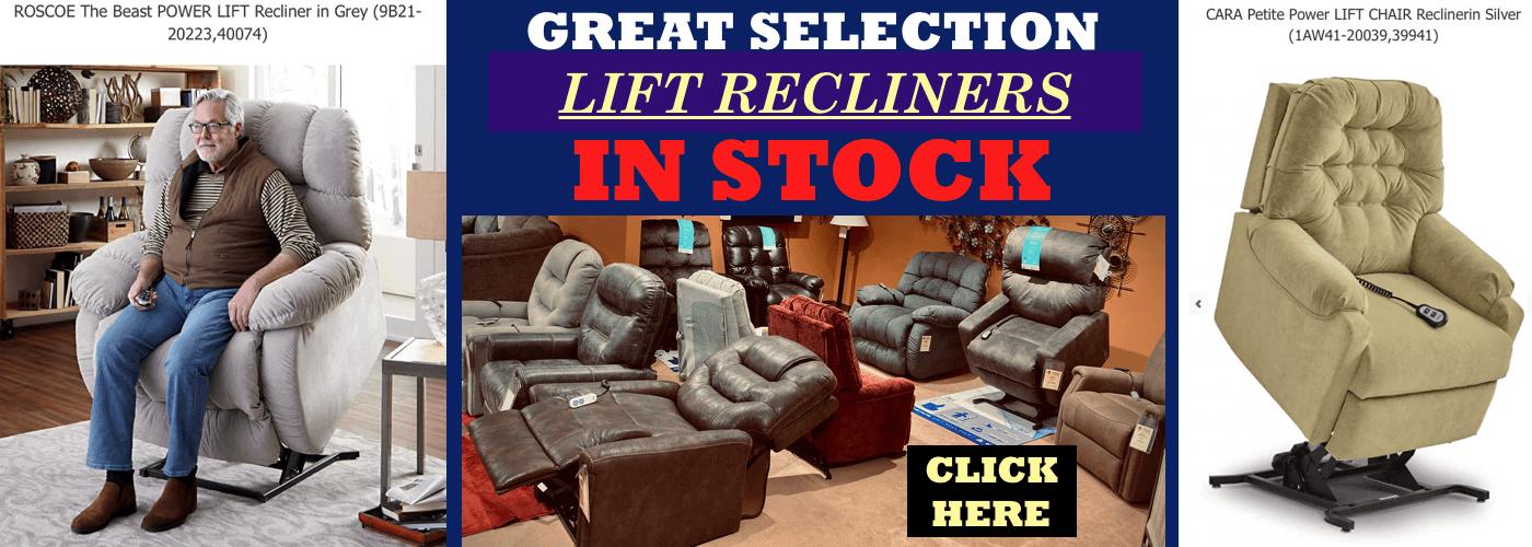 LIFT RECLINER SALE