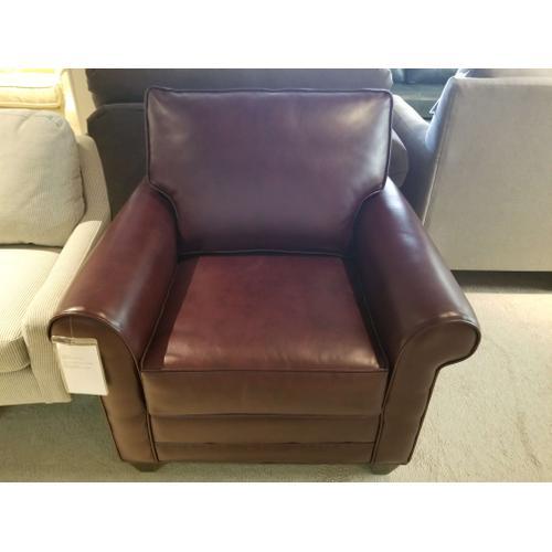 Marshfield - Chair in Taos Burgundy