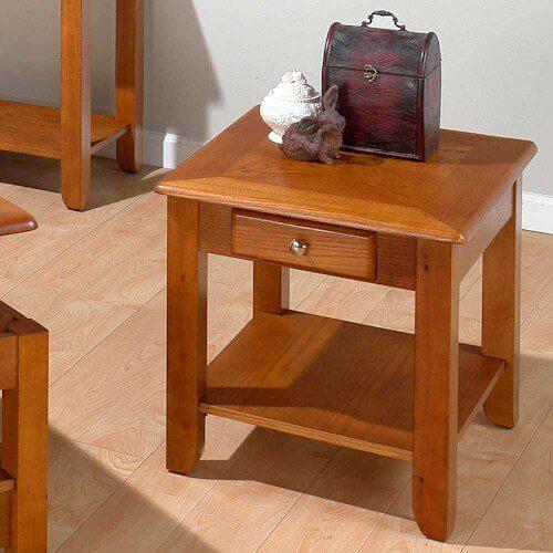Sedona Oak End Table
