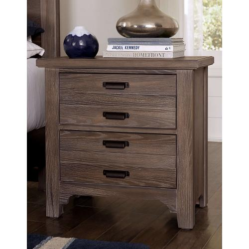 Lm Co. Home - Bungalow Nightstand - Folkstone Finish