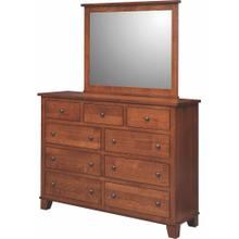 Briarwood- Grand Haven Mission 9 Drawer Dresser