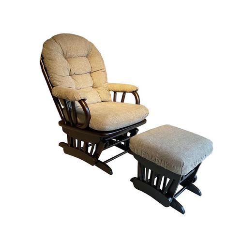 Best Home Furnishings - SONA Glider Rocker & Ottman #233627