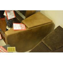 See Details - Light brown storage wedge.
