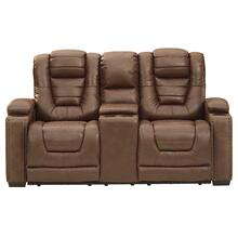 See Details - Owner's Box Power Reclining Console Loveseat