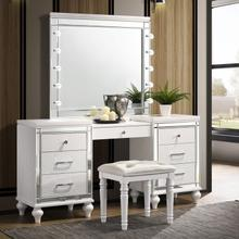 3pc White Vanity Set, Valentino
